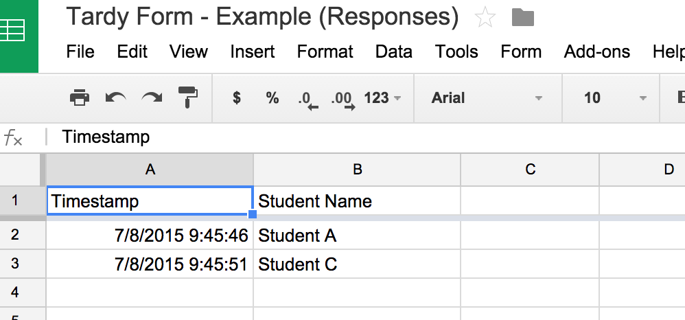 Updating the Choices in a Google Form from a List in a